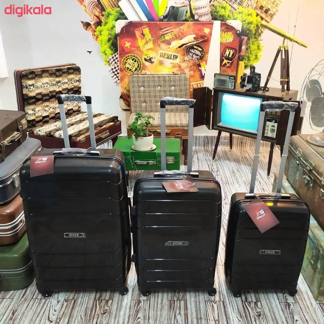 مجموعه سه عددی چمدان اسپید کد B016 main 1 13