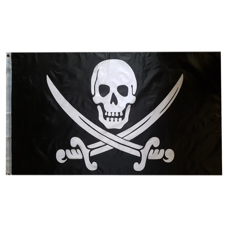 پرچم طرح دزدان دریایی مدل 7007