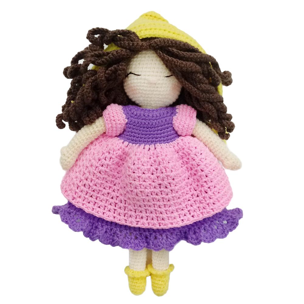 خرید                      عروسک بافتنی کد ۱۲