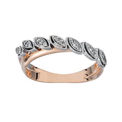 تصویر انگشتر طلا 18 عیار زنانه جواهری سون مدل 2528