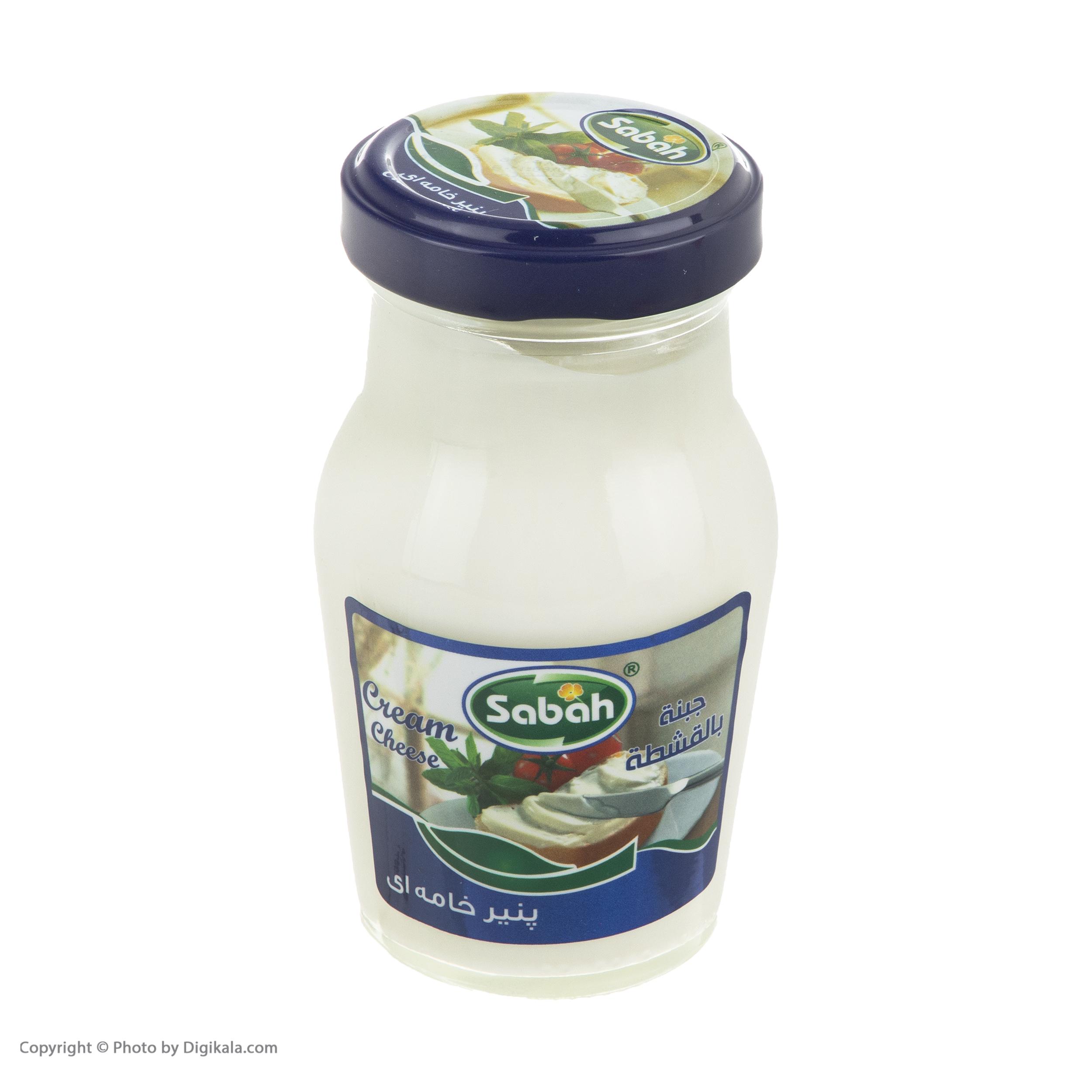 پنیر خامه ای صباح - 240 گرم main 1 2