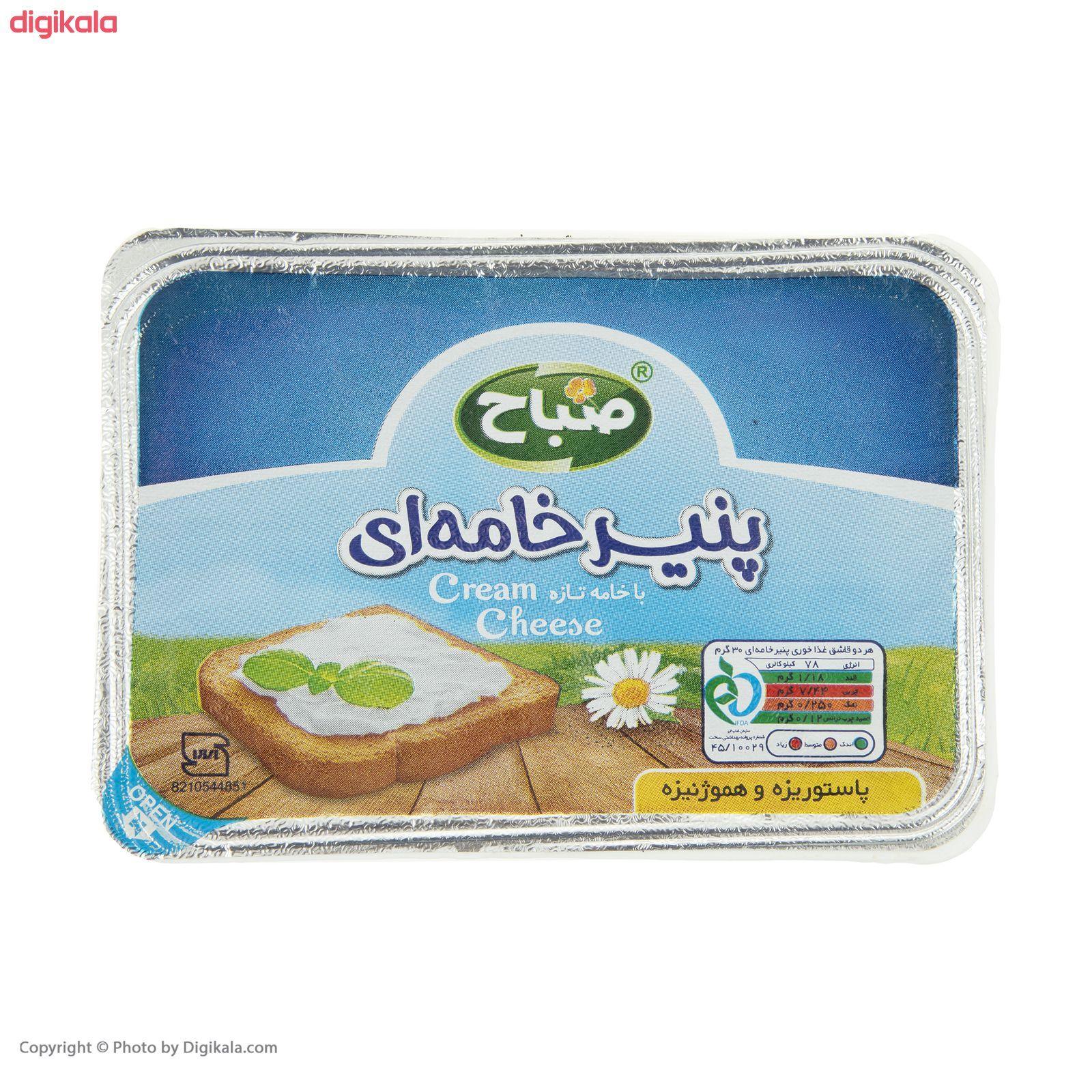 پنیر خامه ای صباح - 270 گرم  main 1 2