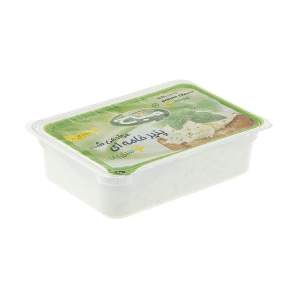 پنیر خامه ای صباح با سبزیجات - 150 گرم