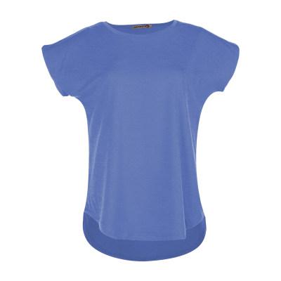 تی شرت زنانه افراتین کد 2517 رنگ آبی