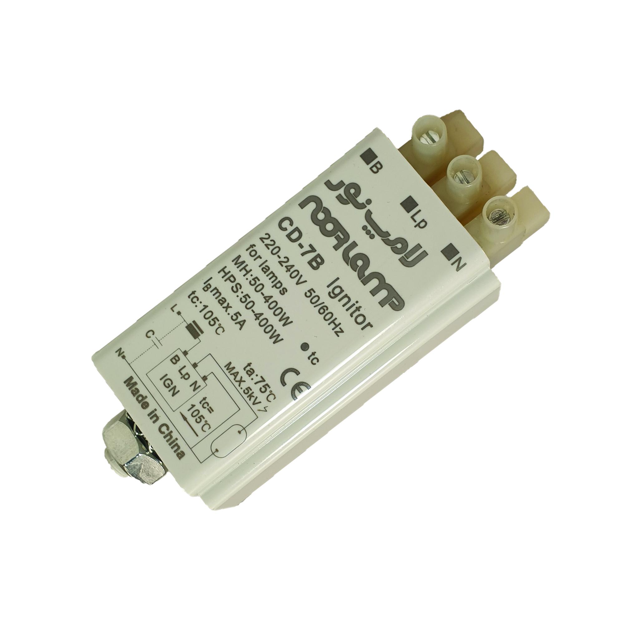 استارتر لامپ نور مدل CD - 7b ignitor