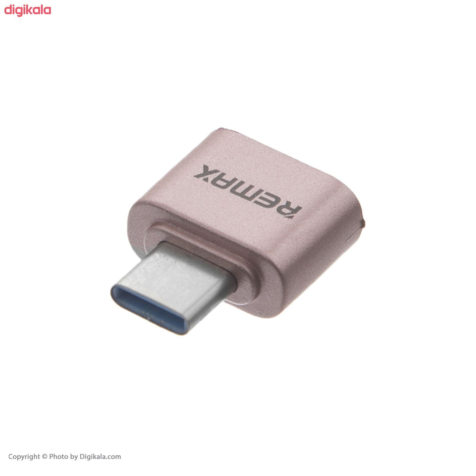 مبدل OTG  USB-C ریمکس کد E9 main 1 2