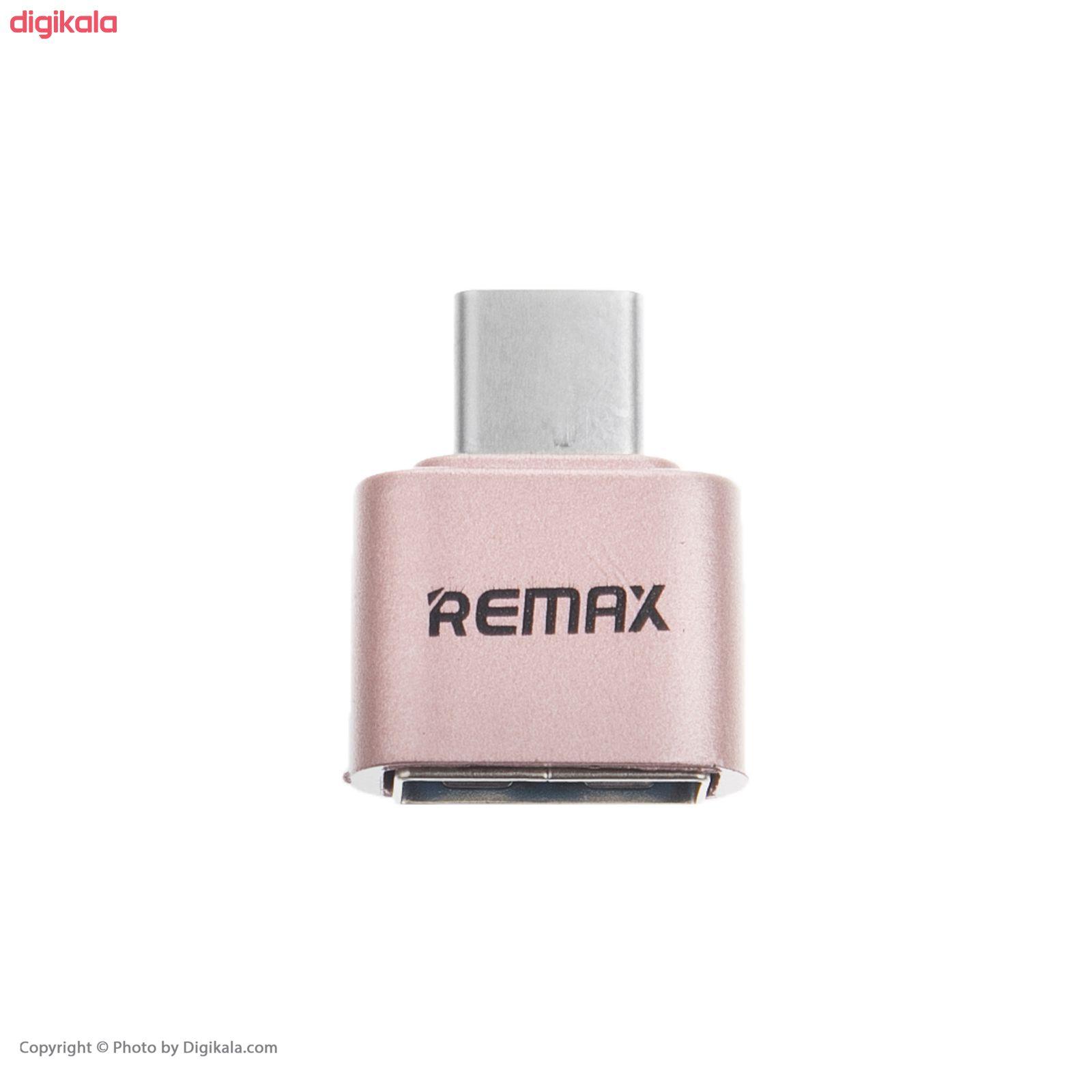 مبدل OTG  USB-C ریمکس کد E9 main 1 1