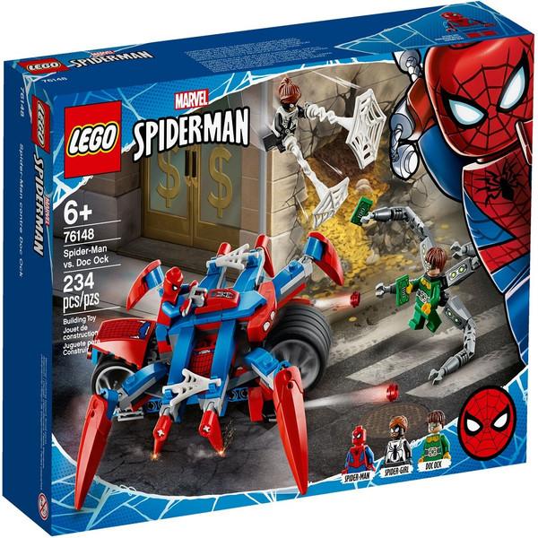 لگو سری Marvel Spider Man مدل 76148 Spider-Man vs. Doc Ock