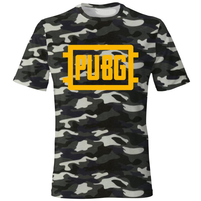 خرید                     تی شرت مردانه طرح PUBG کد ۲۷