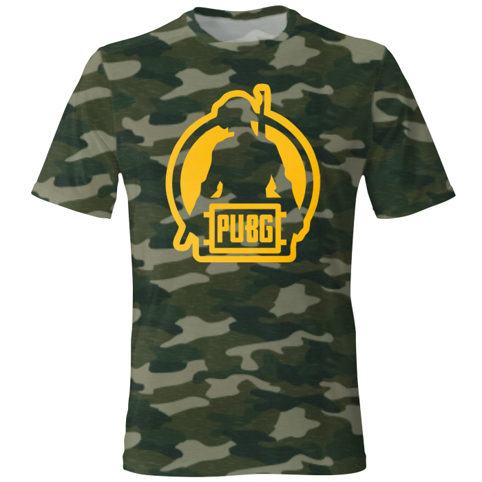 خرید                     تی شرت مردانه طرح PUBG Guy کد ۲۸
