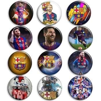 پیکسل طرح بازیکنان بارسلونا کد 3669 مجموعه 12 عددی