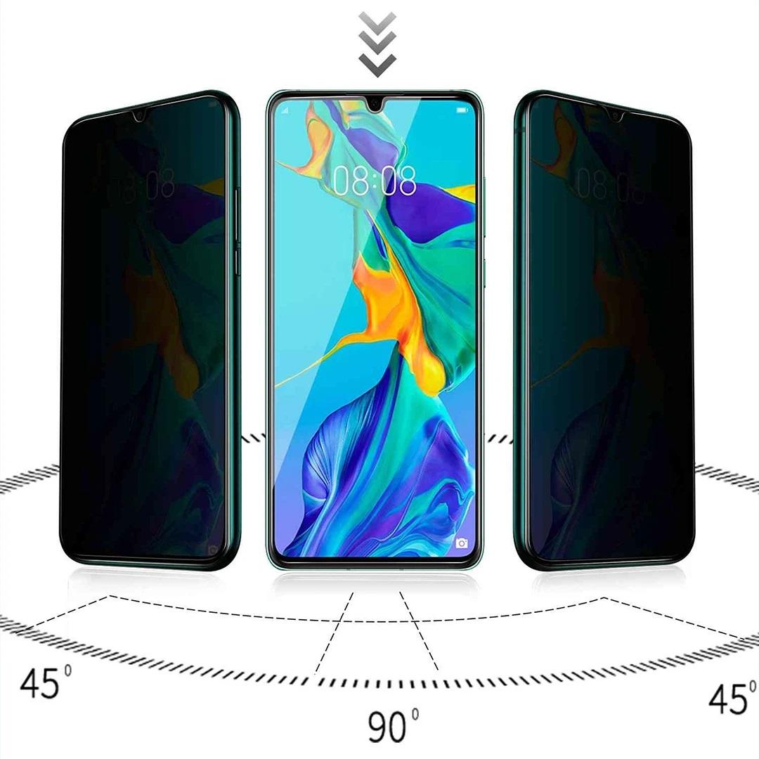 محافظ صفحه نمایش حریم شخصی بادیگارد مدل PX مناسب برای گوشی موبایل شیائومی Redmi Note 8 Pro              ( قیمت و خرید)