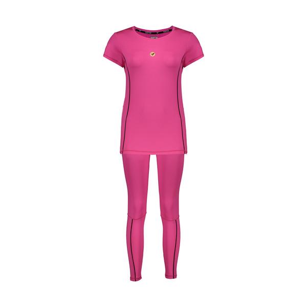 ست تی شرت و لگینگ ورزشی زنانه ویستور کد 1453