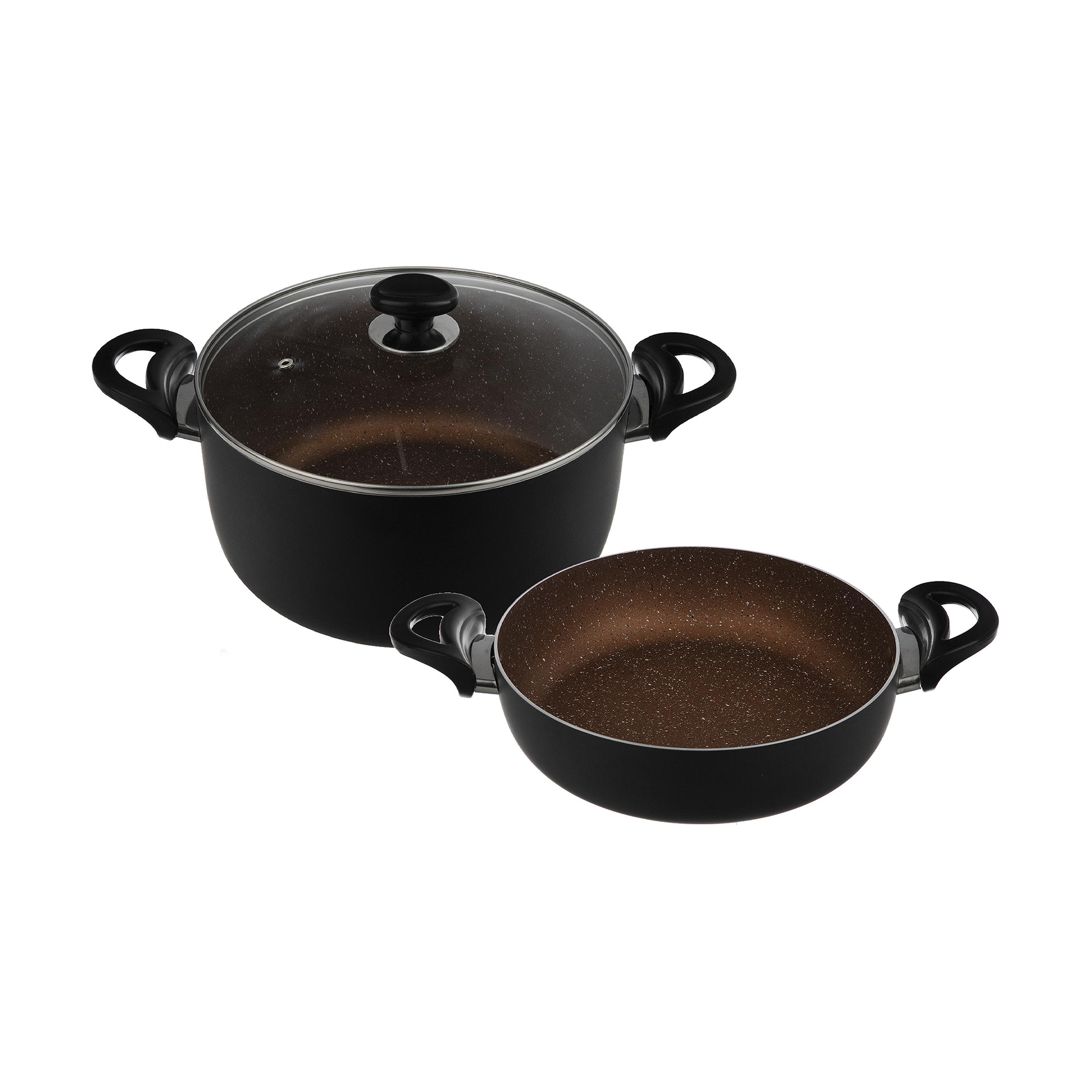 سرویس پخت و پز 3 پارچه عروس مدل کد 004
