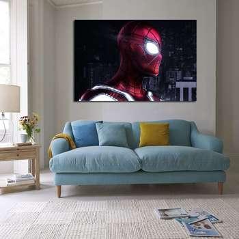 تابلوش شاسی طرح مرد عنکبوتی مدل 124