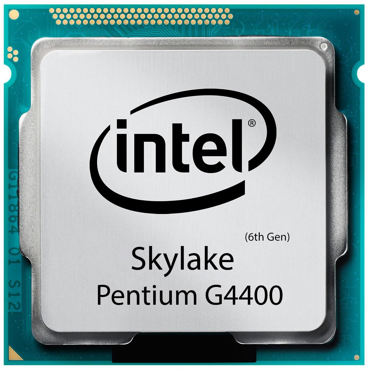 بررسی و {خرید با تخفیف} پردازنده مرکزی اینتل سری Skylake مدل Pentium G4400 اصل