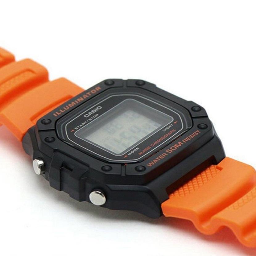 ساعت مچی دیجیتال مردانه کاسیو مدل W-218H-4B2VDFN              اصل