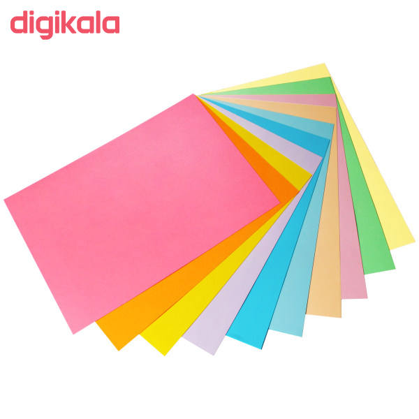کاغذ رنگی A4 کد 100 بسته 100 عددی main 1 1