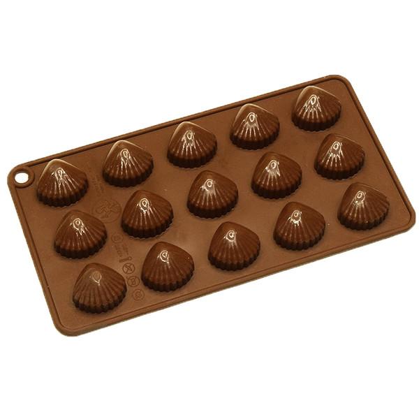 قالب شکلات طرح صدف مدل 14-03