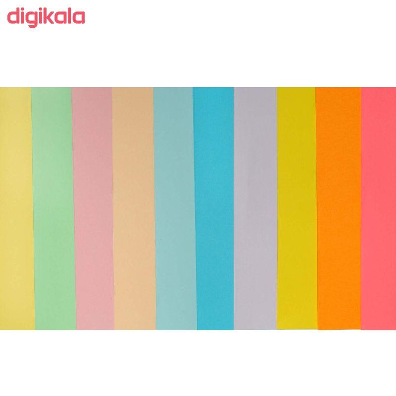کاغذ رنگی A4 کد 100 بسته 100 عددی main 1 2