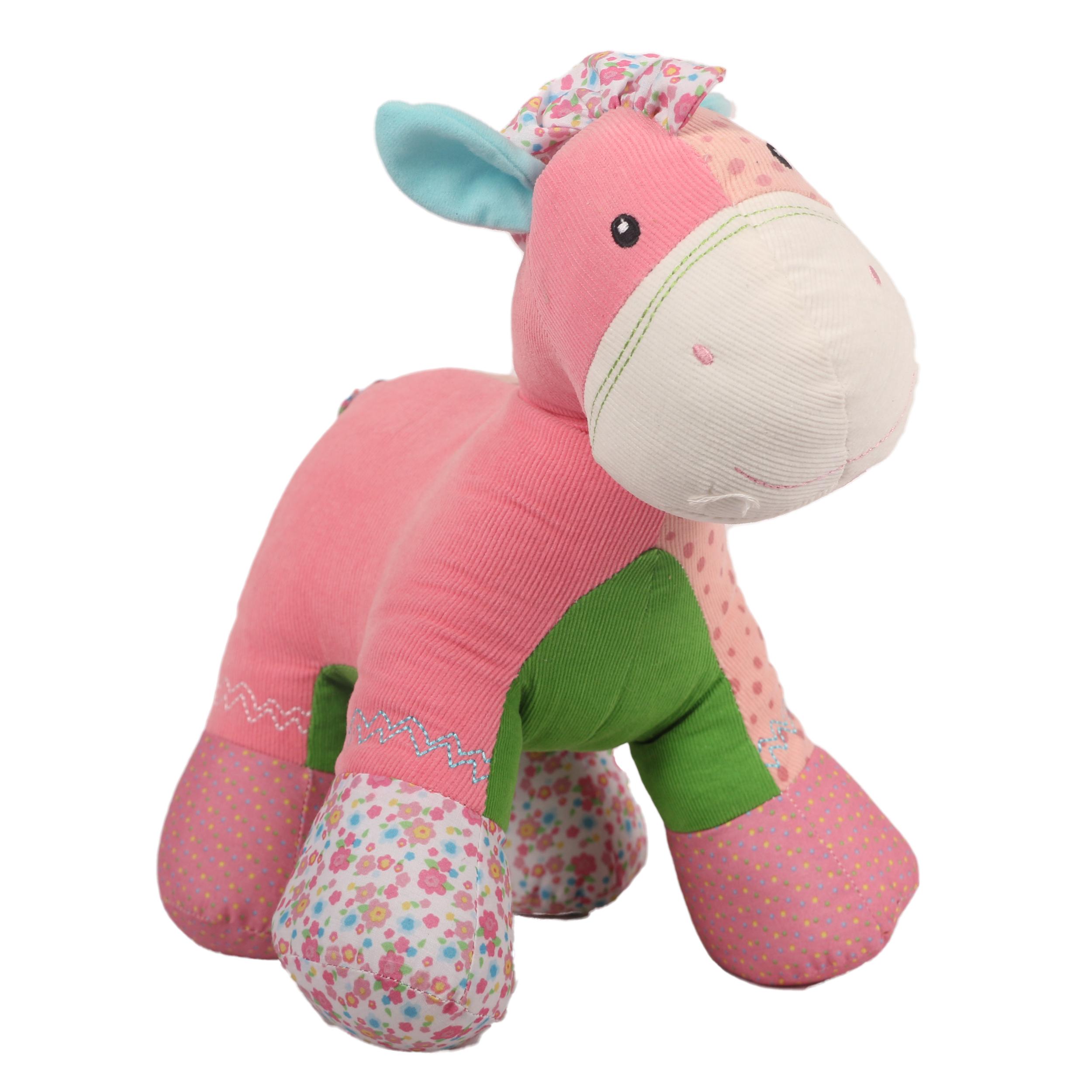 عروسک کیدزلند طرح اسب و زرافه چموش کد JU-009 ارتفاع 35 سانتی متر