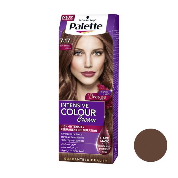 کیت رنگ مو پلت سری Intensive شماره 17-7 حجم 50 میلی لیتر رنگ کاراملی گرم