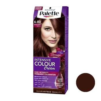 کیت رنگ مو پلت سری Intensive شماره 80-6 حجم 50 میلی لیتر رنگ بلوند فندقی قرمز