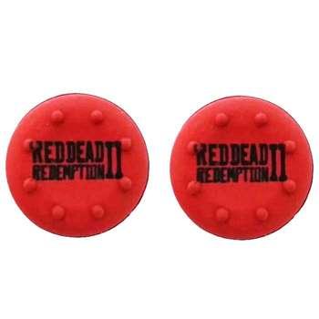 روکش آنالوگ دسته پلی استیشن 4 مدل Red Dead 2 بسته 2 عددی