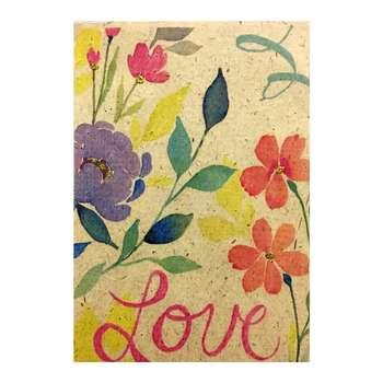 کارت پستال طرح گلزار عشق کد lo.go