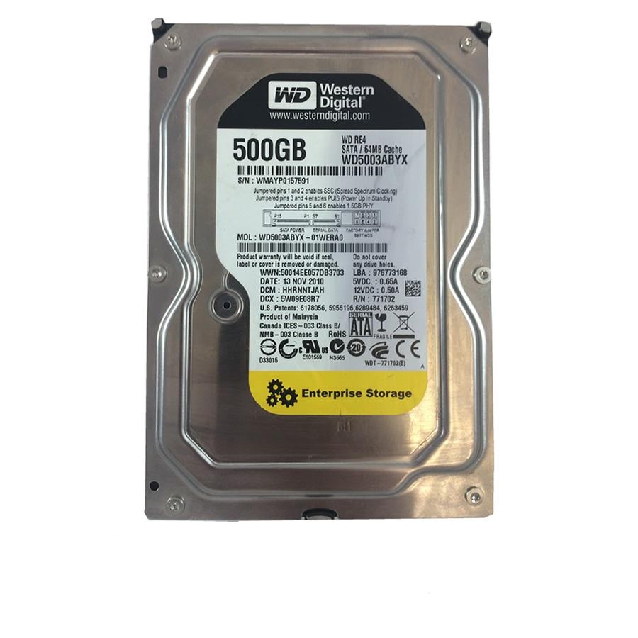 هارددیسک اینترنال وسترن دیجیتال مدل WD5003ABYX ظرفیت 500 گیگابایت