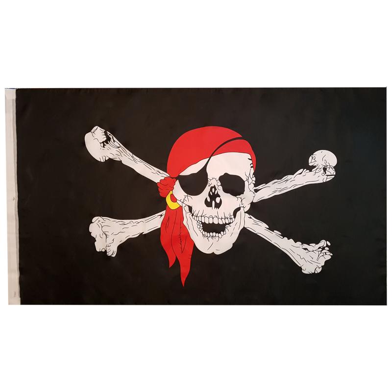 پرچم طرح دزدان دریایی مدل 202