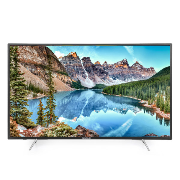 تلویزیون ال ای دی هوشمند سینگل مدل 6518 سایز 65 اینچ
