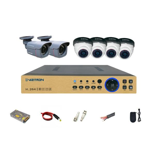 سیستم امنیتی ویزیترون مدل DK22_240ZF20_459XF20_811