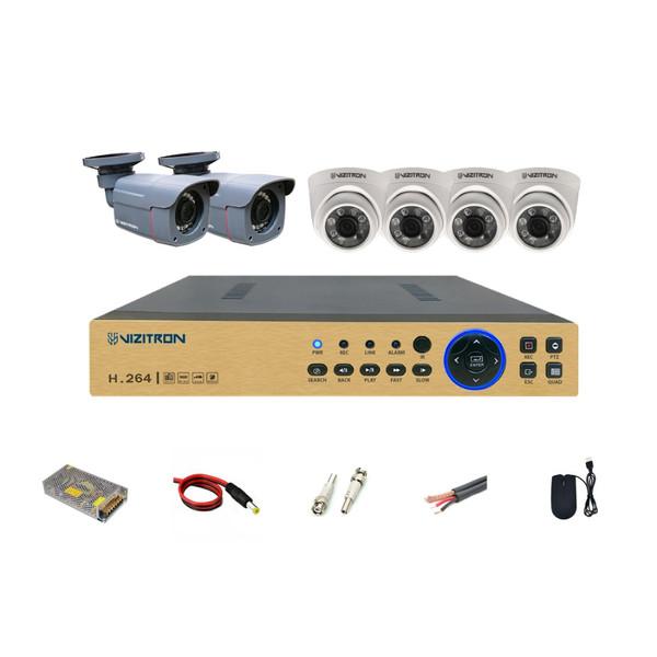 سیستم امنیتی ویزیترون مدل DK24_240ZF20_468XG20_811