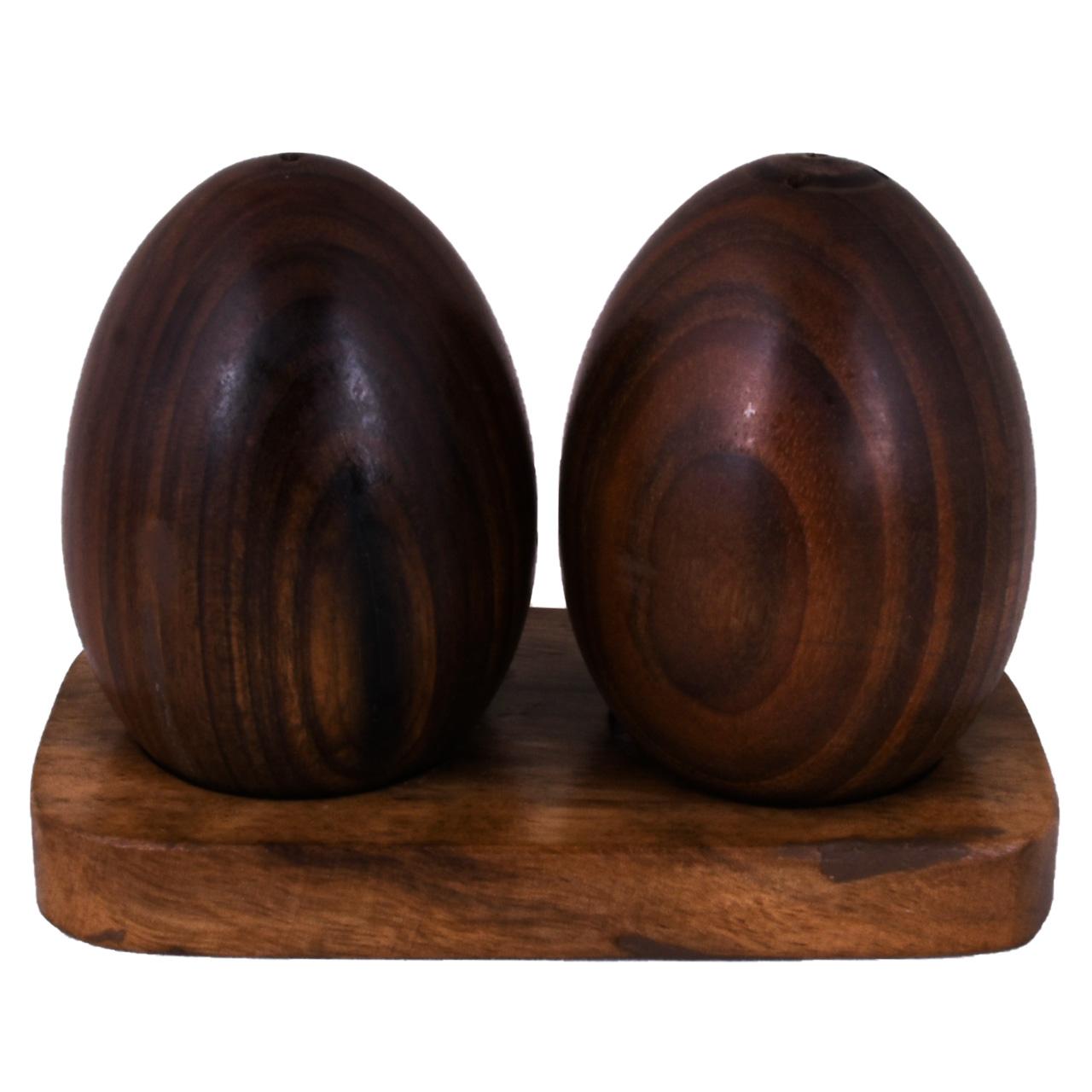 نمکدان چوبی کد 00-01 مجموعه دو عددی