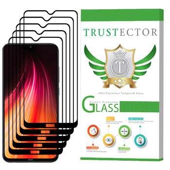 محافظ صفحه نمایش تراستکتور مدل GSS مناسب برای گوشی موبایل شیائومی Redmi Note 8 بسته 5 عددی