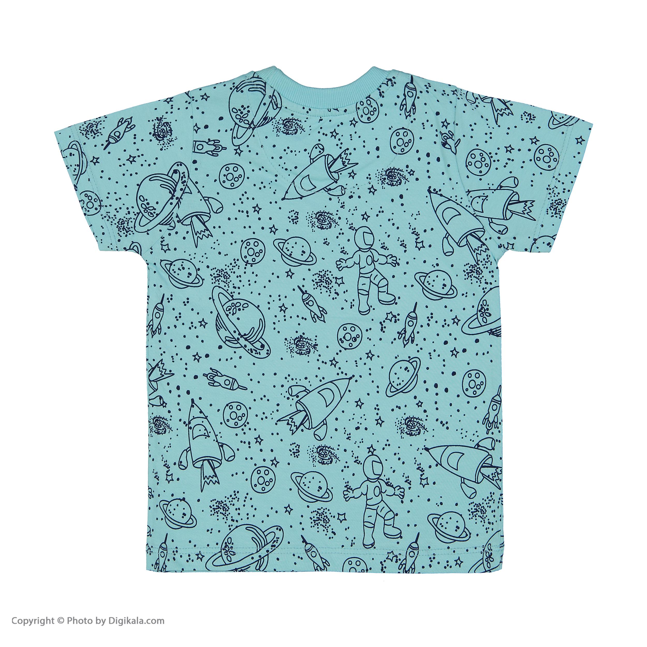 تی شرت پسرانه سون پون مدل 1391308-53