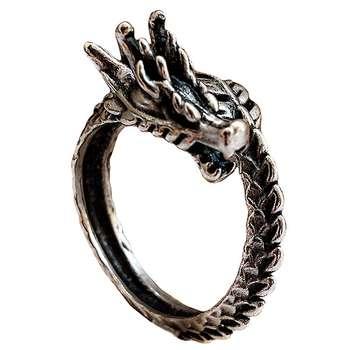 انگشتر مردانه طرح اژدها کد AN-DRA1