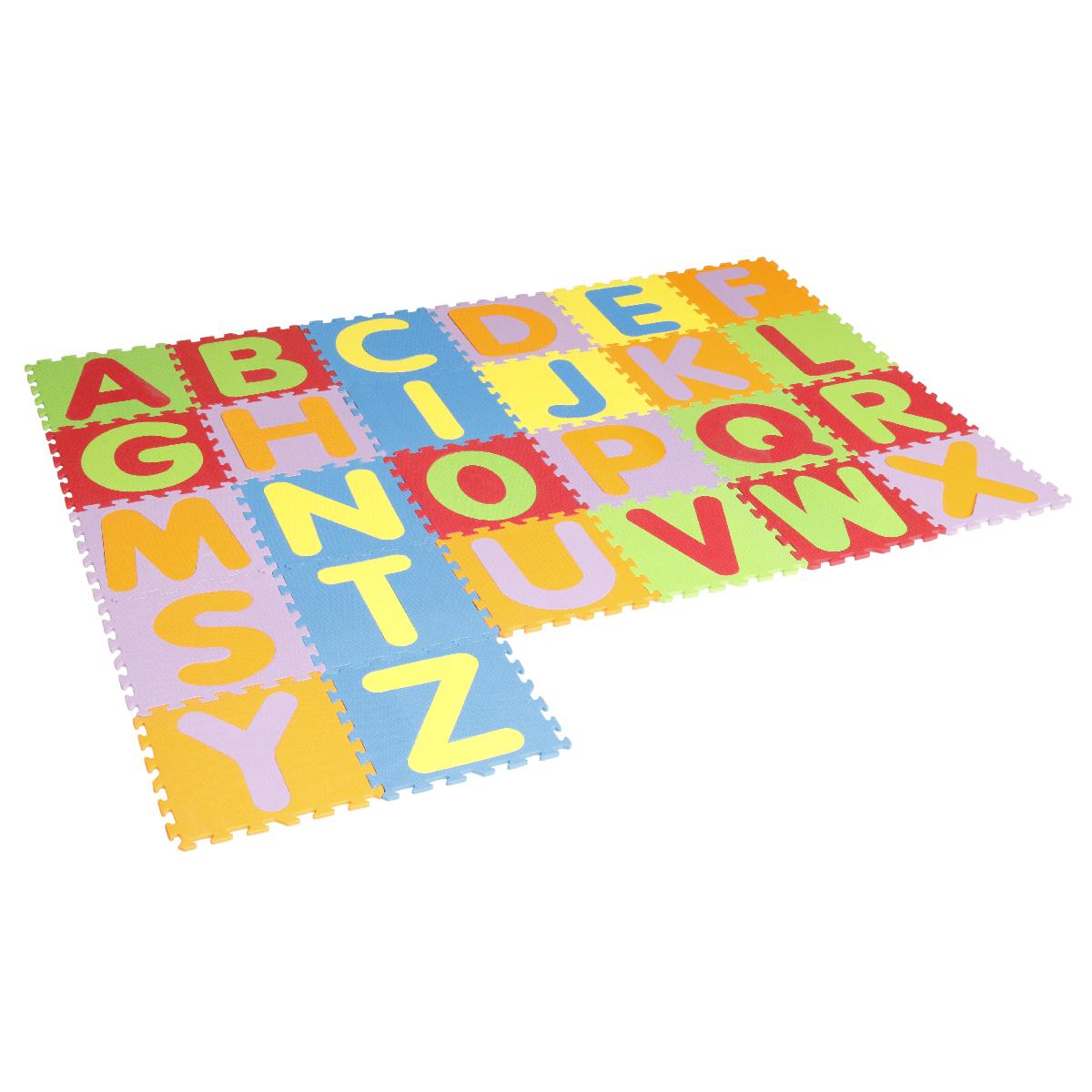 تاتامی بافوم طرح حروف لاتین بسته ۲۶ عددی