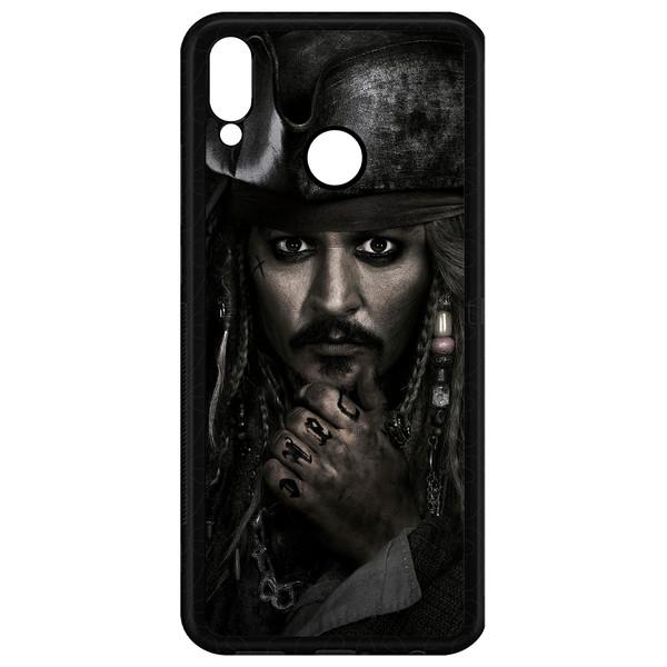 کاور طرح Johnny Depp مدل CHL50178 مناسب برای گوشی موبایل هوآوی Y7 Prime 2019