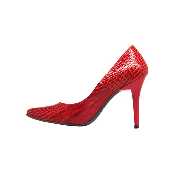 کفش زنانه چرم آرا مدل sh012 gk