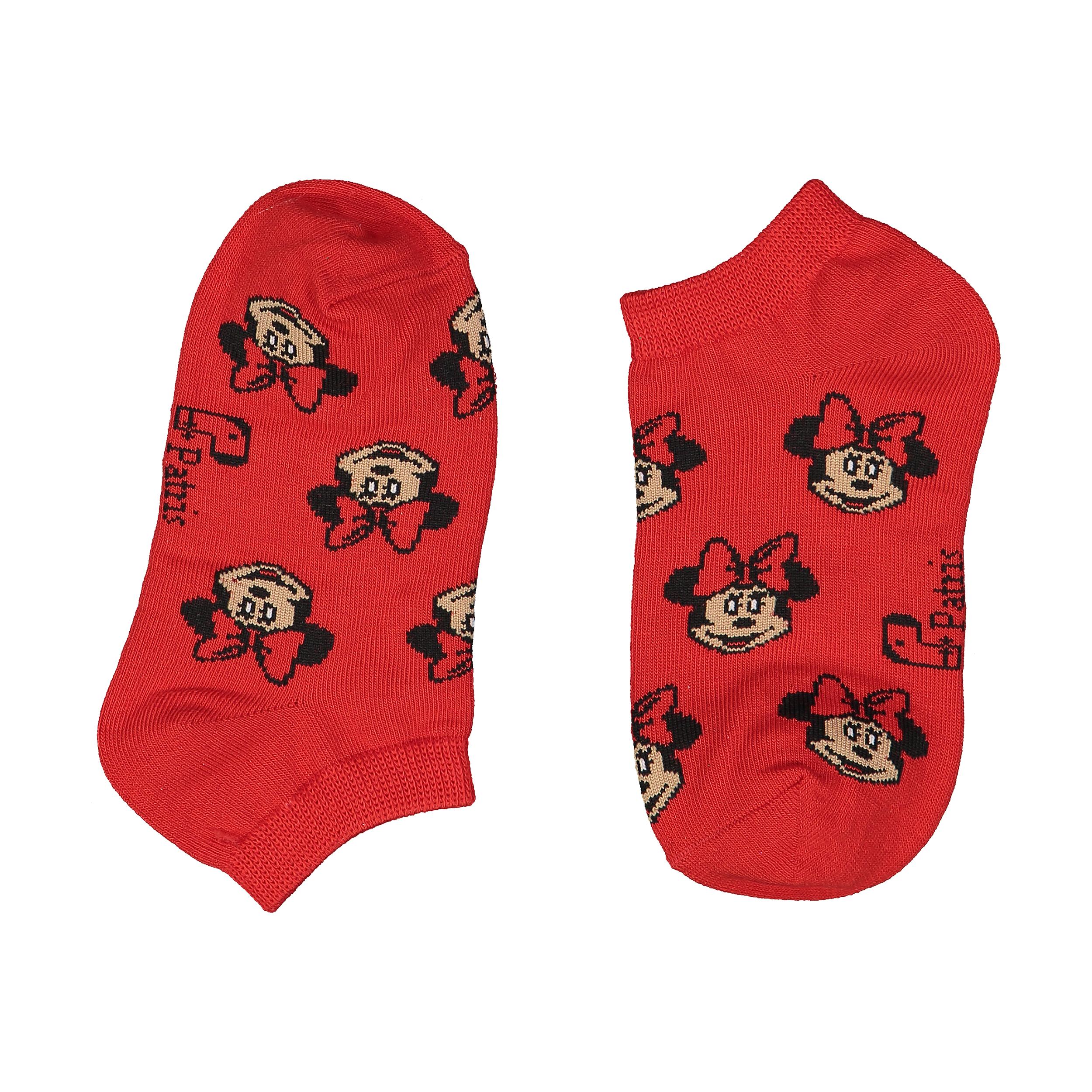 جوراب دخترانه پاتریس طرح مینی موس مدل 2271183-72