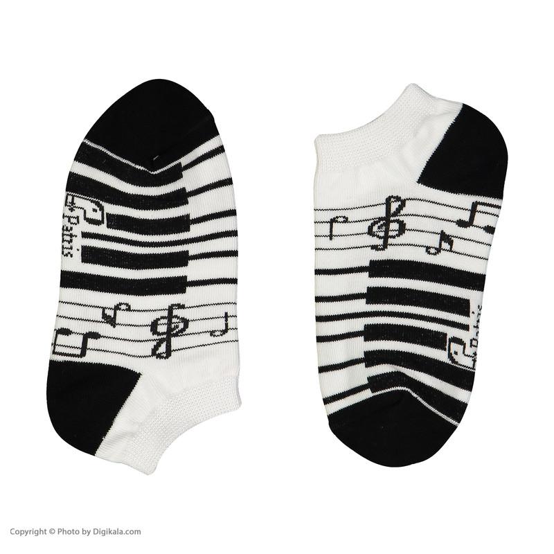 جوراب بچگانه پاتریس طرح پیانو مدل 2271189-01