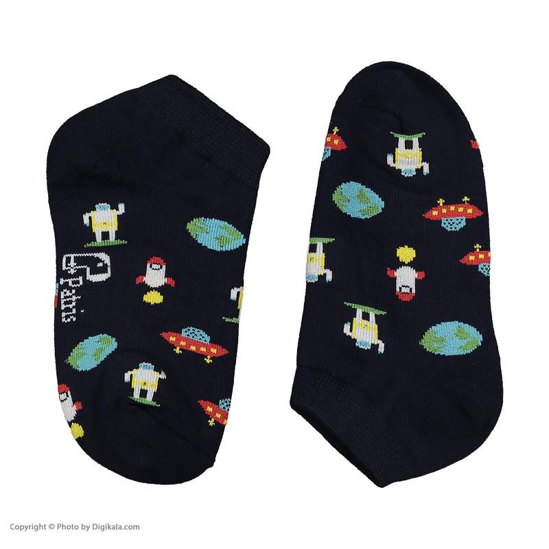 جوراب بچگانه پاتریس طرح کهکشان مدل 2271185-79