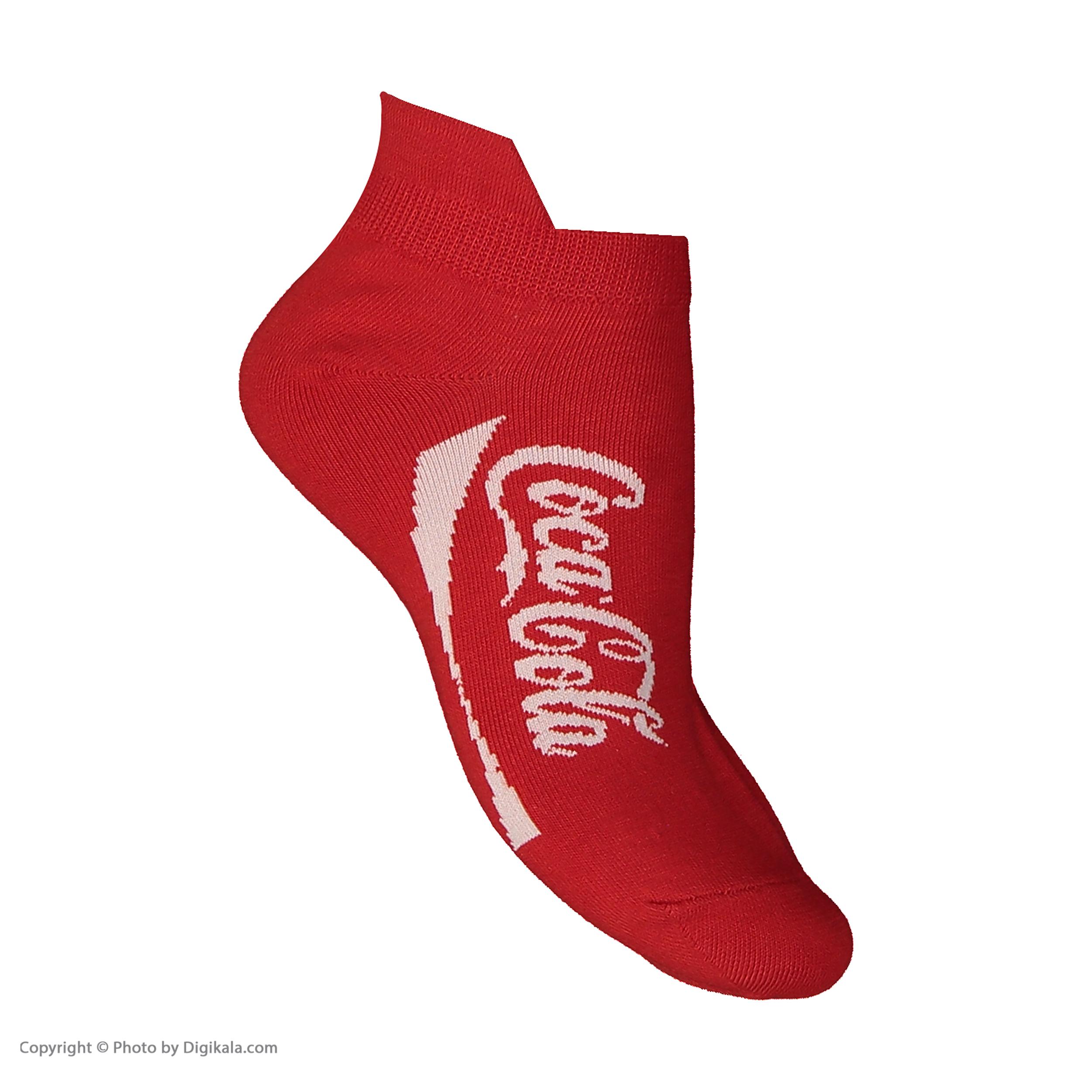 جوراب پاتریس طرح کوکاکولا مدل 2271165-72 thumb 2