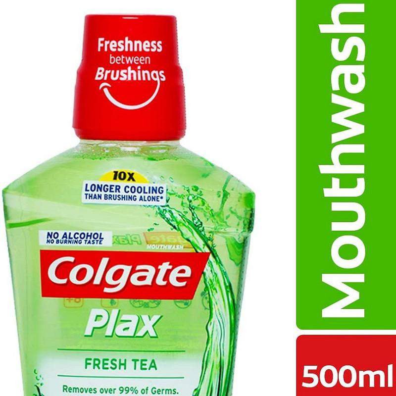 دهان شویه کلگیت مدل Fresh Tea حجم 500 میلی لیتر