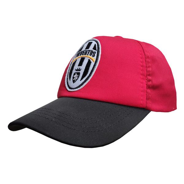 کلاه کپ پسرانه طرح یوونتوس کد 30398 رنگ قرمز
