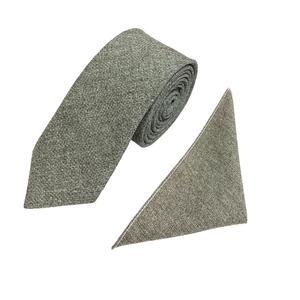 ست کراوات و دستمال جیب مردانه کد KM01