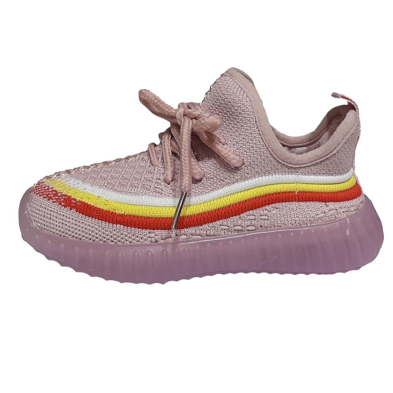 کفش راحتی چراغدار دخترانه مدل YS15