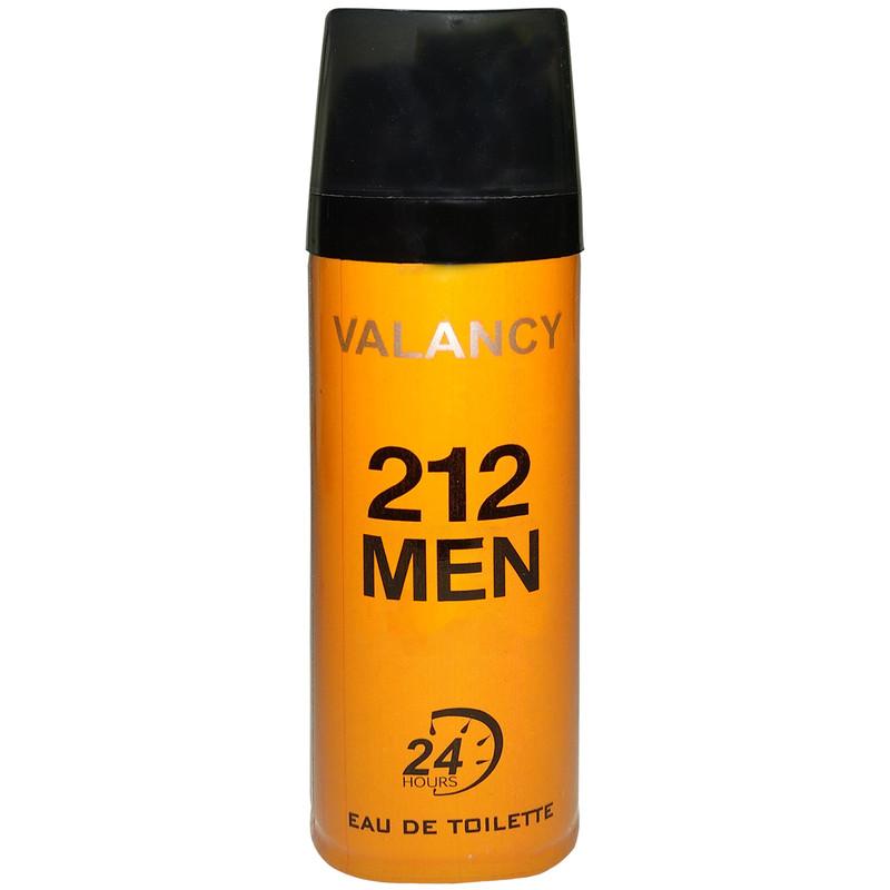 اسپری خوشبو کننده بدن مردانه والانسی مدل 212M حجم 200 میلی لیتر